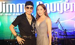 Quỳnh Nga đến mừng sinh nhật Jimmii Nguyễn