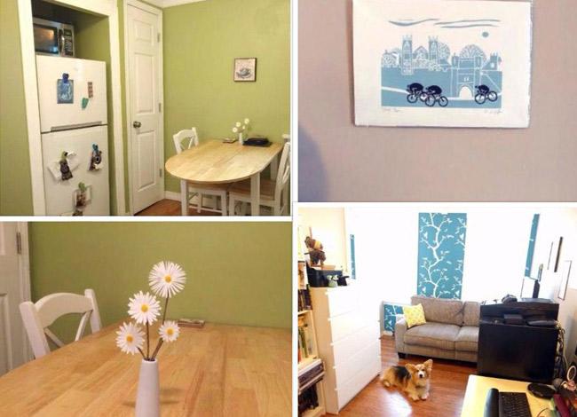 Căn hộ rộng 40 m2 của vợ chồng JP tại New York được bày trí theo phong cách tối giản. Ảnh: Forbes.