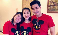 MC Nguyên Khang khoe hai em gái