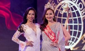 Đương kim Miss Globe Khánh Ngân bị 'cướp' quyền trao vương miện