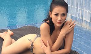 Phương Khánh khoe đường cong sau khi thắng giải áo tắm tại Miss Earth