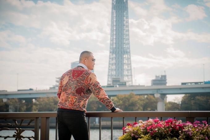 Nhà thiết kế Đức Vincie khám phá ngôi đền cổ nhất ở Tokyo - 9