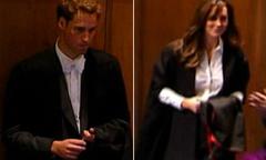 Fan thích thú xem video hoàng gia Anh dự lễ tốt nghiệp của William, Kate