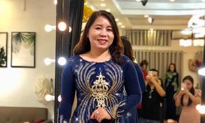 NTK Minh Châu tư vấn áo dài cho mẹ cô dâu, chú rể vóc dáng tròn