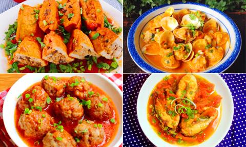 8 món sốt cà chua cho bữa cơm nhà thêm ngon