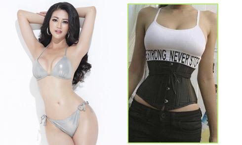 Phương Khánh quấn bụng từ năm 16 tuổi để có vòng eo 58 cm