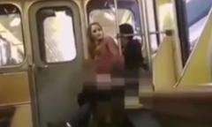 Đôi nam nữ đối mặt 5 năm tù vì 'mây mưa' trên tàu điện ngầm