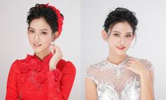 2 kiểu makeup trong veo giúp cô dâu thêm rạng rỡ