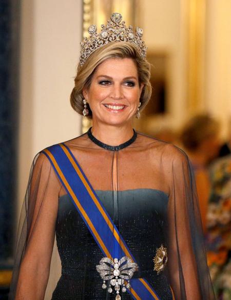 Hoàng hậu Maxima của Hà Lan. Ảnh: X03508.