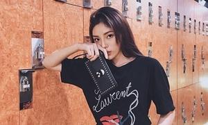 Hoa hậu Kỳ Duyên thanh lý kho hàng hiệu được 323 triệu đồng