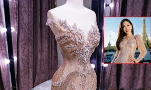 Trang phục dạ hội của Phương Nga tại chung kết Miss Grand