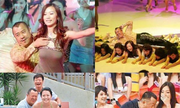 Ông trùm làng giải trí Hong Kong có nhiều hành động khiếm nhã với sao nữ.