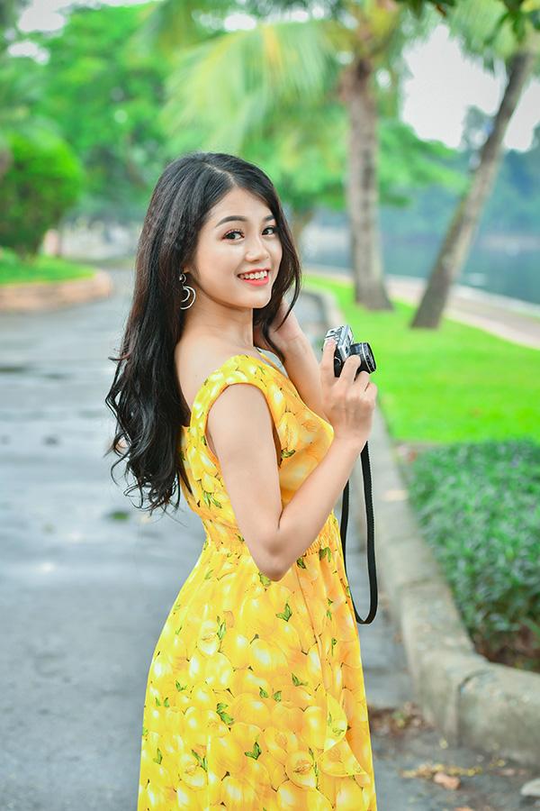 Thanh Thanh sinh năm 1995, vừa đăng quang cuộc thi Tuyệt đỉnh song ca 2018.