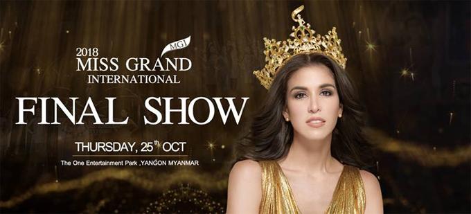 Hoa hậu Hòa bình 2017 Maria Jose Lora sẽ trao lại vương miện trong đêm chung kết tối nay.
