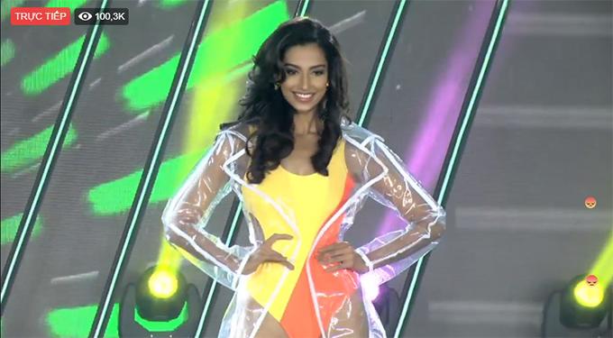 Màn trình diễn của người đẹp Ấn Độ.