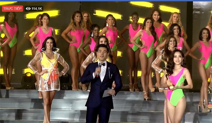 Phương Nga của Việt Nam nhận giải thí sinh được bình chọn nhiều nhất.