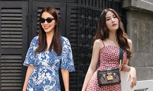 Chọn váy mùa thu đẹp như sao Việt
