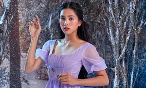 Hoa hậu Tiểu Vy hóa công chúa Disney