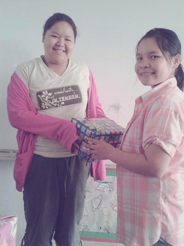 Từng bị gọi là voi nước, thiếu nữ Thái Lan lột xác nhờ giảm 45 kg - 2