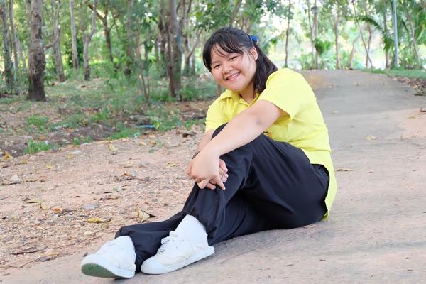 Từng bị gọi là voi nước, thiếu nữ Thái Lan lột xác nhờ giảm 45 kg - 3