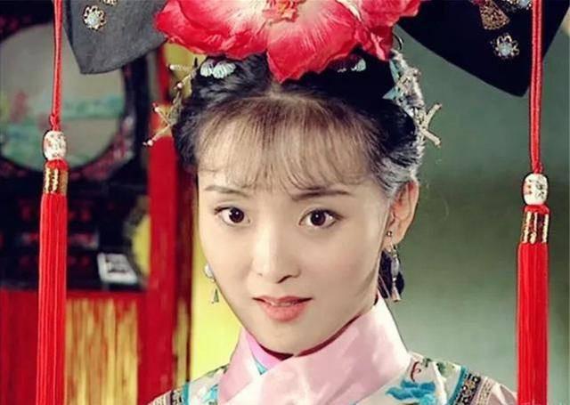 Nhan sắc của Vương Diễm khi đóng vai Tình Nhi Cách cách phim Hoàn Châu.