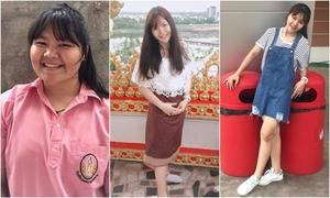 Thiếu nữ Thái Lan giảm 45 kg để từ bỏ biệt danh 'voi nước'