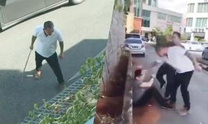 Bố vợ Malaysia trừng trị con rể tội đánh vợ