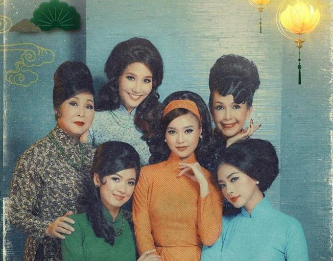 Dàn diễn viên của phim Cô Ba Sài Gòn.