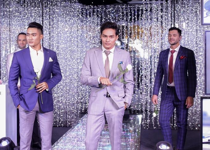 Tiếp nối chương trình là BST Cooper&Co của nhà thiết kế Quỳnh Trần. Các bộ suits may đo thủ công giúp phái mạnh tôn vẻ nam tính, lịch lãm.
