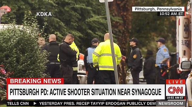 Ít nhất 8 người chết trong vụ xả súng giáo đường ở Mỹ
