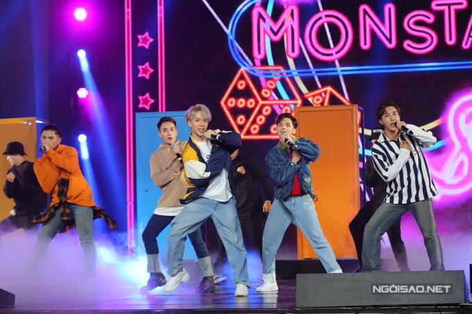 Nhóm Monstar trở lại tham gia chương trìnhvới sự góp mặt của thành viên thứ 5 - Zino. Trên sân khấu, các chàng trai mang đến ca khúc Nếu mai chia tay có màu sắc R&B, hip hop.