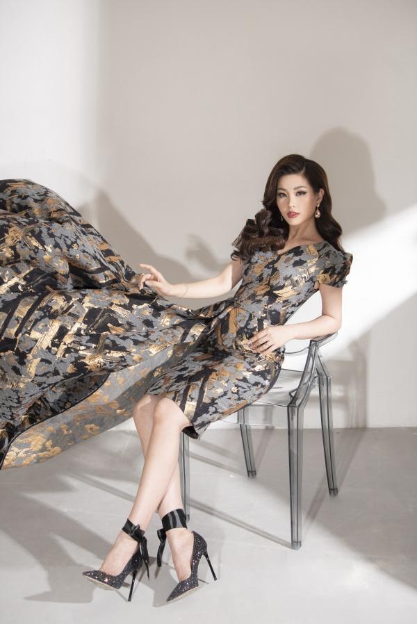 Á hậu Diễm Trang khoe nhan sắc gái một con mặn mà - 6