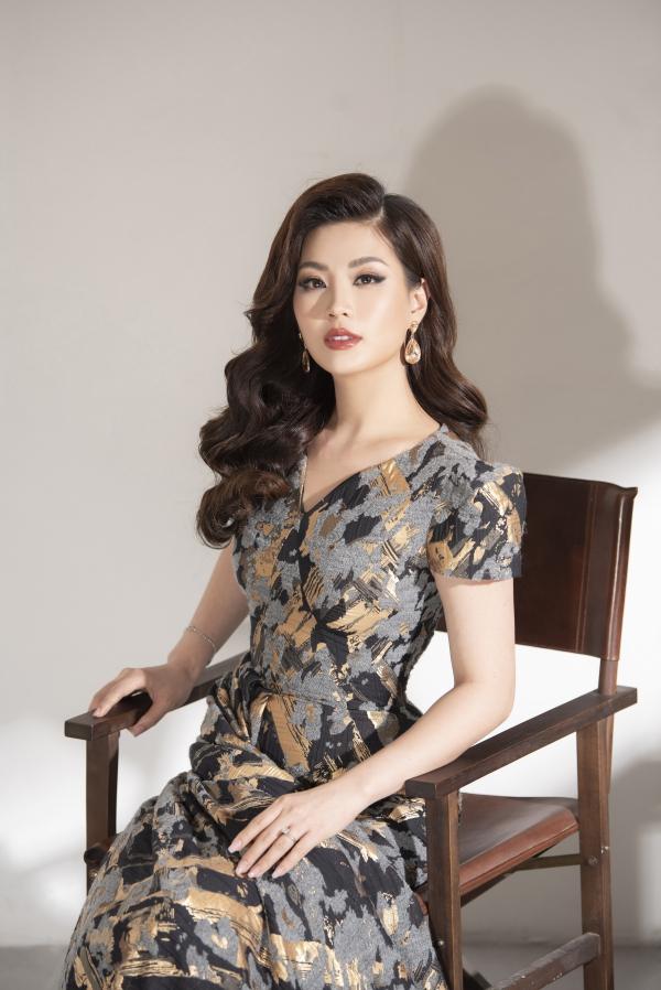 Á hậu Diễm Trang khoe nhan sắc gái một con mặn mà - 8