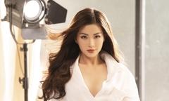 Á hậu Diễm Trang khoe nhan sắc 'gái một con'
