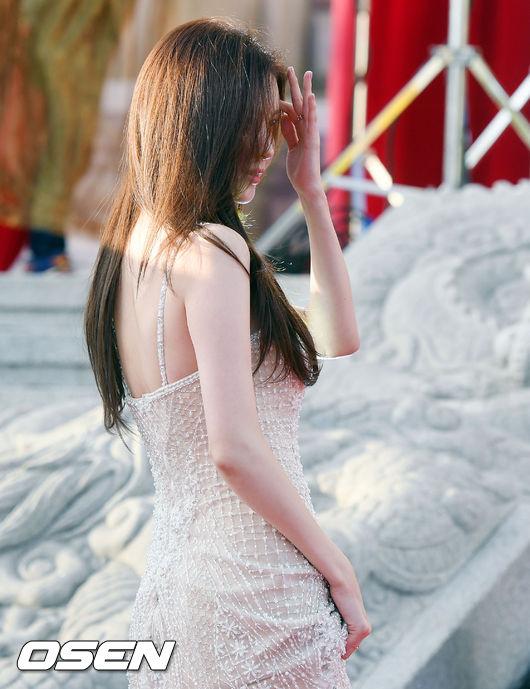 Khoảnh khắc đẹp tựa nữ thần của Seo Hyun.