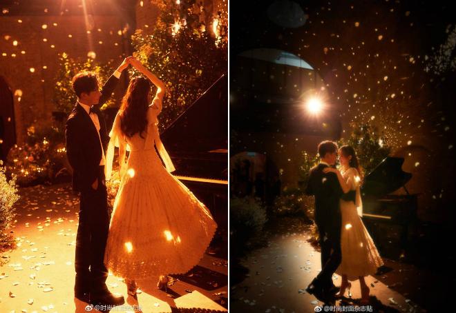 Tờ QQ viết đây là đám cưới đẹp nhất thế giới.