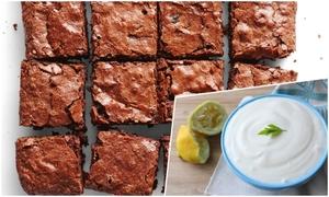 Nguyên liệu giúp món bánh brownie không bị dính răng
