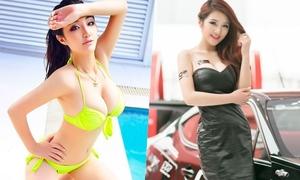 Mẫu nữ Trung Quốc có vòng ngực 103 cm chỉ nhờ một thói quen