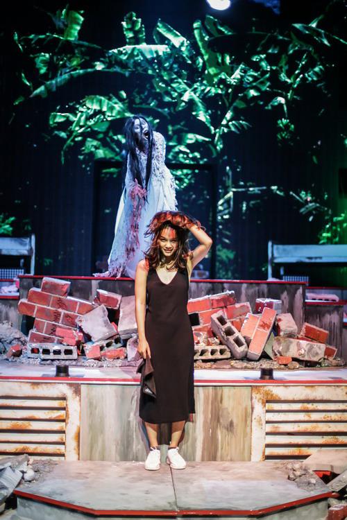 Trong các nhân vật ma năm nay ở Singapore, Thanh Tú ấn tượng nhất với ma nữ đoạt hồn Pontianak của Malaysia.