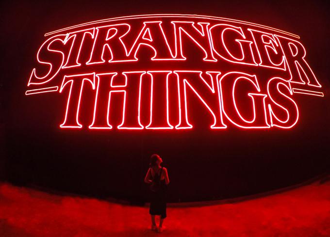 Năm nay, Universal còn kết hợp với hãng Netflix để tái hiện một ngôi nhà ma theo phong cách phim truyền hình kinh dị ăn khách Stranger Things. Thanh Tú cho biết cô là fan cuồng nhiệt của series phim này.