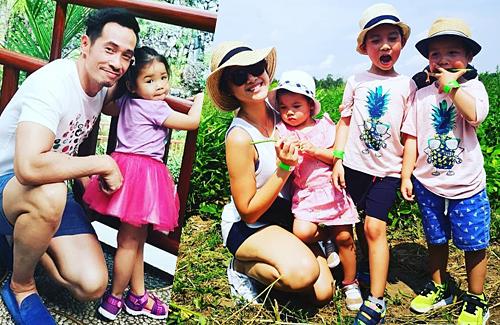Trần Hào tiết lộ có ba con, vợ chồng anh đã rất bận.