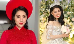 Vợ diễn viên Xuân Phúc chọn makeup tự nhiên cho ngày đại hỷ
