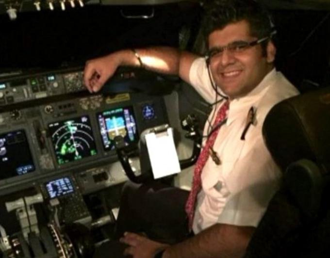 Cơ trưởng Bhavye Suneja của chuyến bay JT-610 rơi xuống biển gần Jakarta, Indonesia sáng 29/10.