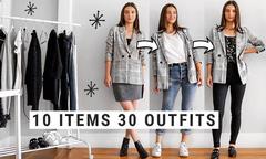 Mix 30 bộ đồ từ 10 item dễ kiếm