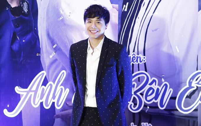 Ca sĩ Trịnh Thăng Bình bảnh bao, lịch lãm đi sự kiện.