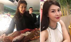 Á hậu Thái Lan đi ăn với bạn một ngày trước tai nạn máy bay