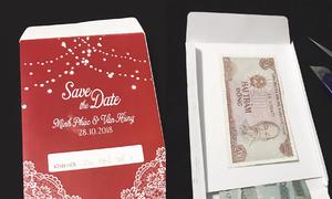 Phong bì mừng 200 đồng của bạn thân khiến cô dâu sốc