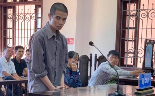 Bị cáo Vũ gây án khi đang là sinh viên sư phạm. Ảnh: Đ.N.