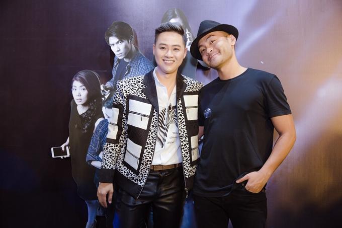 Ca sĩ Thanh Duy và VJ Dustin Nguyễn.