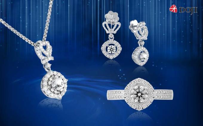 Định hình phong cách sang trọng, quý phái cho người sở hữu, BST Queen of hearts lấy cảm hứng từ chiếc vương miện cao quý.